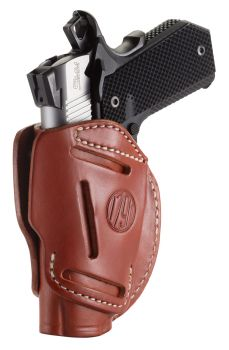 1791 Gunleather 3wh1cbra 3 Way Brown Leather Owb 1911 34 Ambidextrous Hand