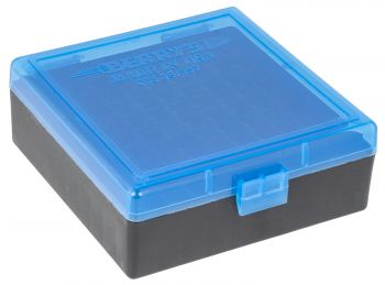 Berrys 003 Ammo Box 38 Special357 Mag 100rd Blue/black