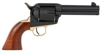 Taylors And Company 0399 Old Randall 45 Colt Lc 6 Round 4.75 Blued Walnut Navy Sized Grip