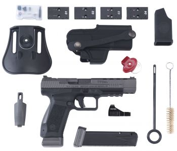 Century Hg3774gvn Tp9sfx Canik 9mm Luger 5.20 201 Black Black Polymer Grip With Viper Red Dot