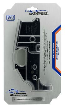 Anderson D2k067a000op Ar15 Stripped Lower Multicaliber Black Hardcoat Anodized