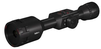 ATN TIWST4384A Thor 4 384 Thermal Riflescope Black Anodized 4.518x MultiReticle 384x288 60Hz Resolution