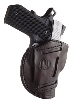1791 Gunleather 3wh1sbra 3 Way Signature Brown Leather Owb 1911 34 Ambidextrous Hand