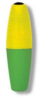 Betts-Mr-Crappie-Slipper-FloatCigar-2-.5-Weighted-2-Pack BM2BWSF-2YG
