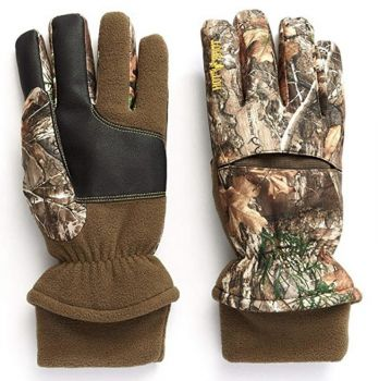 Hot Shot Aggressor Gloves Realtree Xtra With Pro-Text Waterproof X-Large