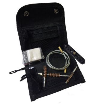 Remington Field Cleaning Kit Pistol W/Cable & Accessories